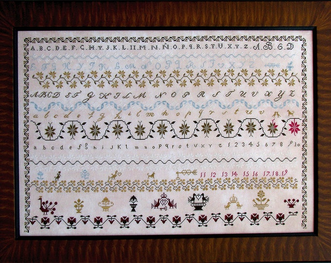 Spanish Mystery Sampler - Shakespeare's Peddler - Cross Stitch Chart