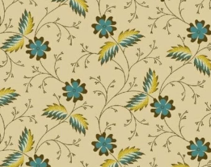 Enduring Legacy - Flower Teal Cream