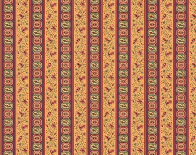 Carlisle - Vining Stripe Brown  8470N - 1/2yd