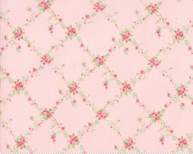 Caroline -  Lattice Pink 1865113 - 1/2yd