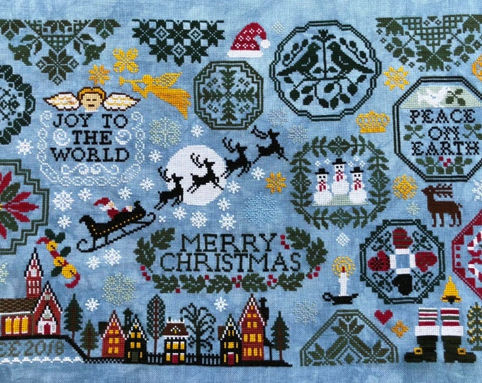 Holiday Quaker - Lila's Studio - Cross Stitch Chart
