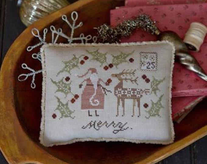 Merry One - Plum Street Samplers - Cross Stitch Chart