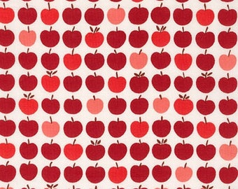 London Calling Lawn 6 - Apples Red - 1/2 yard