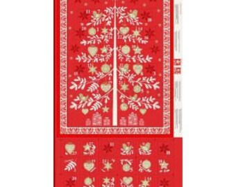 Scandi Advent Calendar 1970R - Fabric Panel