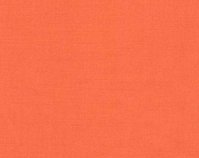 Textured Solid - Mandarin - 1 yard