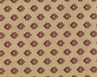 Community Cubes Tan - 1/2yd