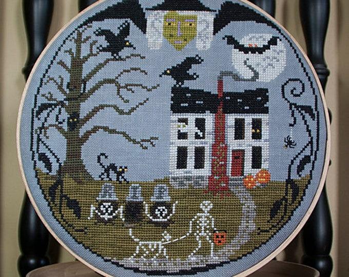 Halloween Resurrection - Lone Elm Lane - Cross stitch chart