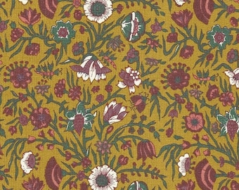 Dutch Chintz - Hindenlopen Chrome Yellow FQ