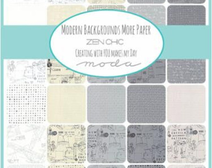 More Paper - Modern Backgrounds by Zen Chic - Jelly Roll