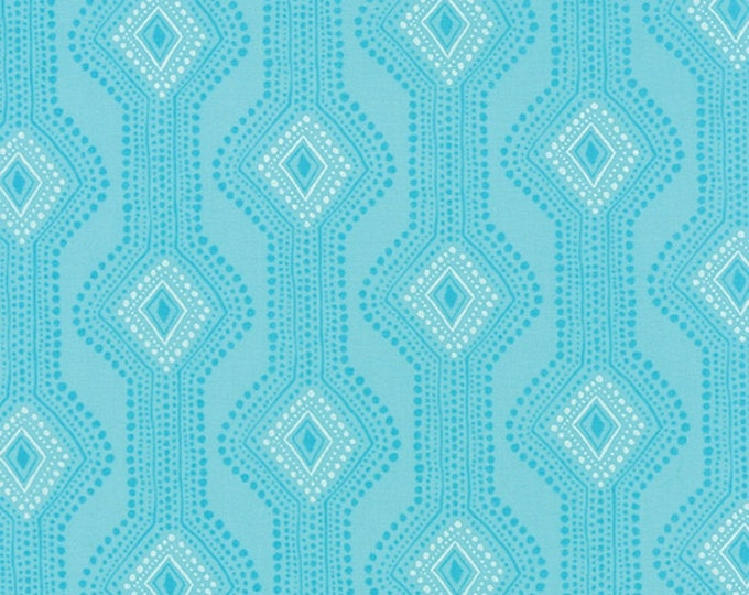 Paradiso by Kate Spain - Utopia Pearl Blue - 1 yd