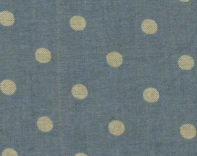Mas d'Ousvan - Moon Chambray Sevigne Dusty Blue - 1/2yd