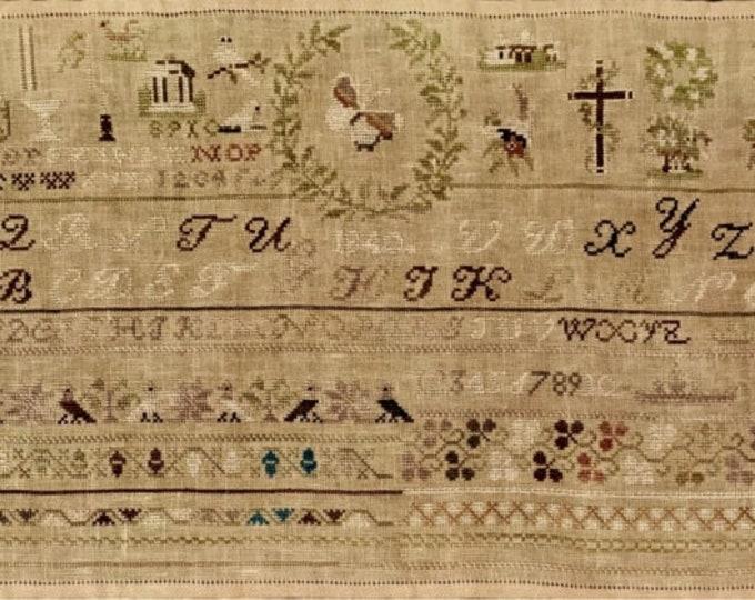 Harriet Ann Hughson 1843 - NeedleWorkPress - Cross Stitch Chart
