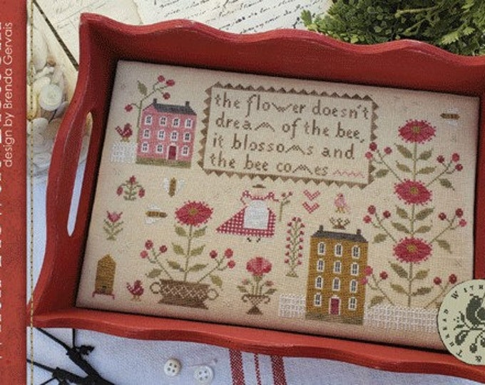 When Flowers Blossom - With Thy Needle and Thread - Cross Stitch Chart