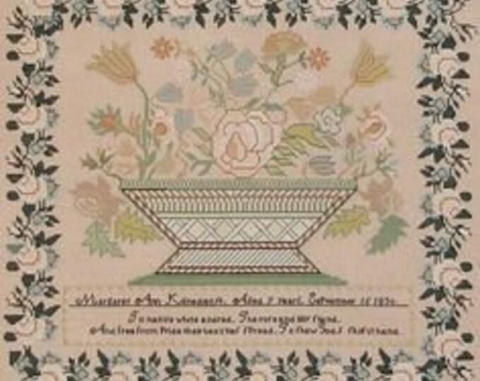 Margaret Ann Klinedienst 1830 - Queenstown Sampler Designs - Cross Stitch Chart