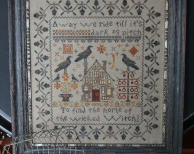 Away We Ride - Blackbird Designs - Cross stitch chart
