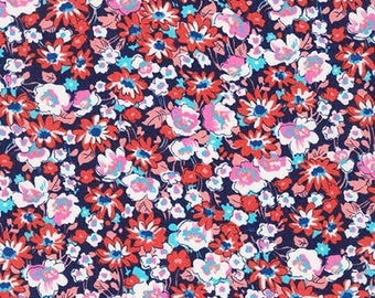 London Calling Lawn 6 - Floral Americana - 1/2 yard