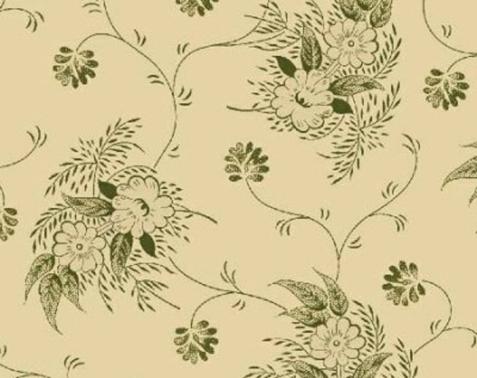 Enduring Legacy - Texture Floral Green