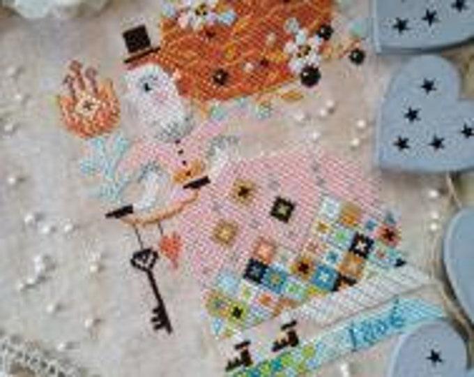 I Give You My Heart - Barbara Ana Designs - Cross Stitch Chart