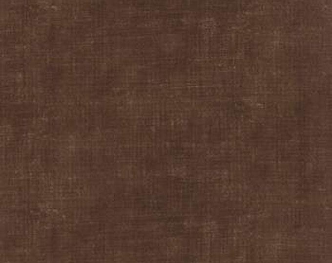 Indigo - Ikat Washed Denim Khaki M3290722 - 1/2yd