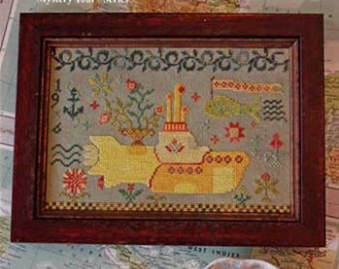 Yellow Submarine - Magical Mystery Tour 5 - Blackbird Designs - Cross stitch chart