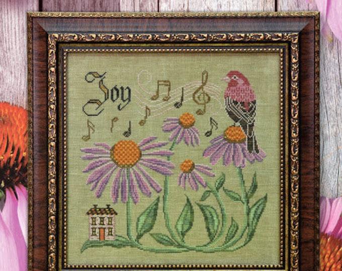 Sing for Joy - Songbird's Garden #10 - Cottage Garden Samplings - Cross Stitch Chart