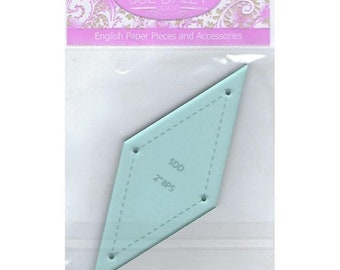 Template and EPP Papers - 2 inch 8 Pointed Star