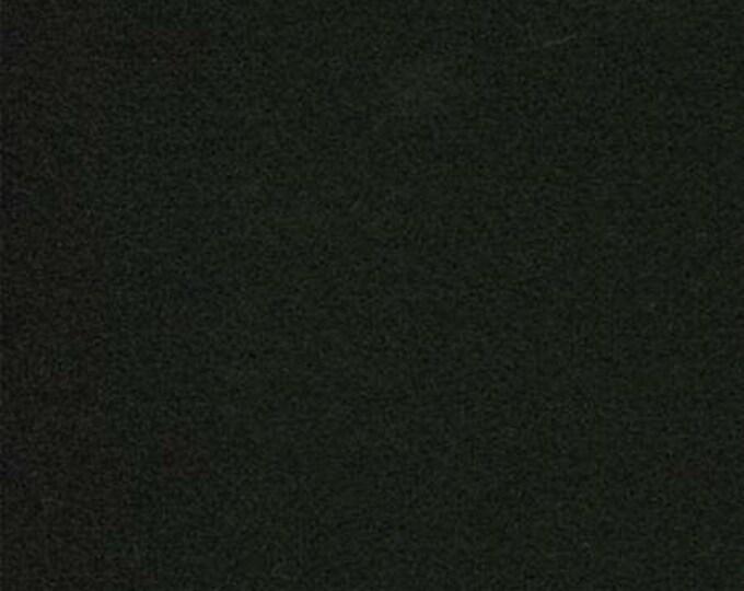 Moda 100% Wool Black 5481029 - 1/2 yd x 54 inches