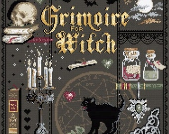 Grimoire - Witches Book of Spells from Madame La Fee -