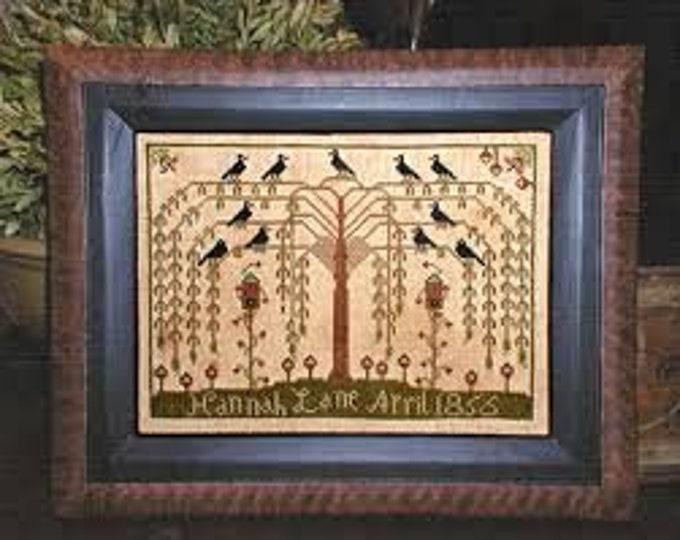Willow Tree Sampler - Barrick Samplers - Chart Only