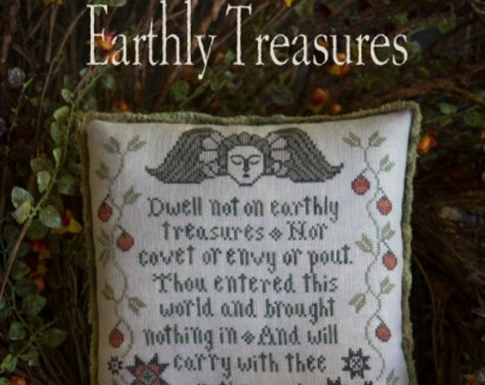 Earthly Treasures - Plum Street Samplers - Cross Stitch Chart