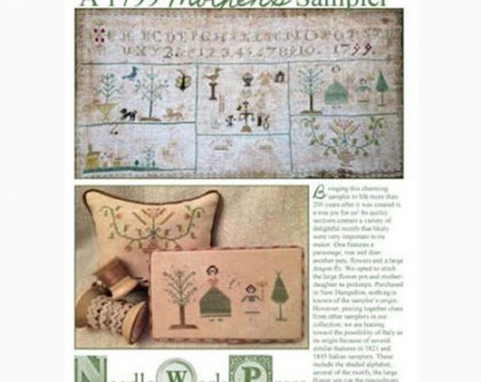 A 1799 Mother's Sampler - NeedleWorkPress - Cross Stitch Chart