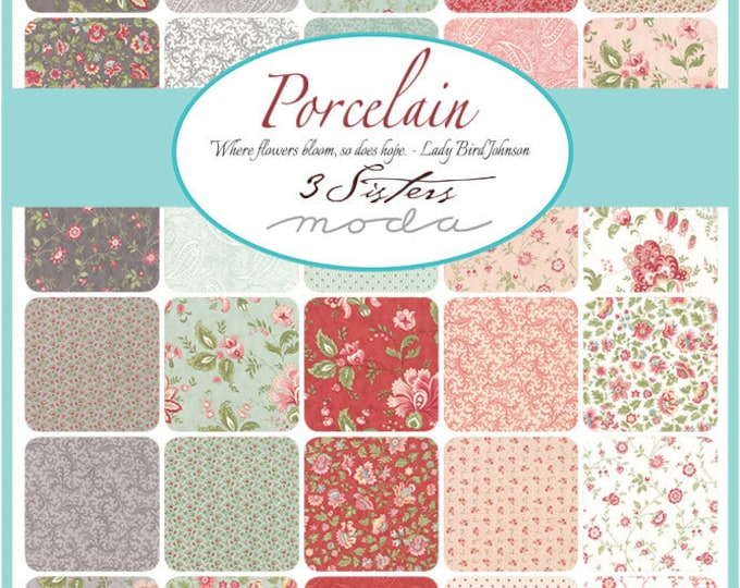 Porcelain by 3 Sisters - Layer Cake