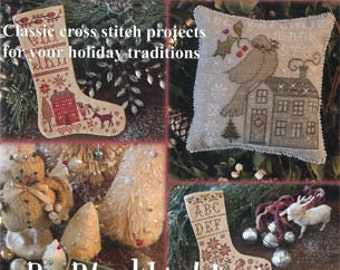 Home for the Holidays - Blackbird Designs - Cross Stitch Book