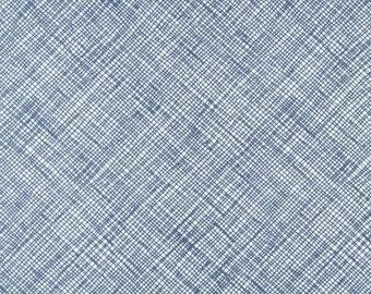 Architextures Blue - 1/2yd