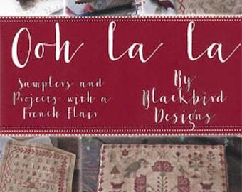 OOh La La - Blackbird Designs - Cross Stitch Book