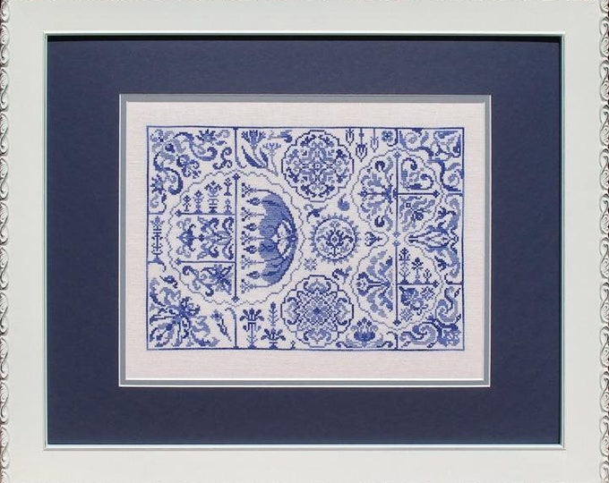Turkish Delight - Ink Circles - Cross stitch chart