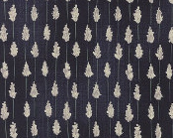 Wordsmith Lavender Dark Blue - 1/2yd
