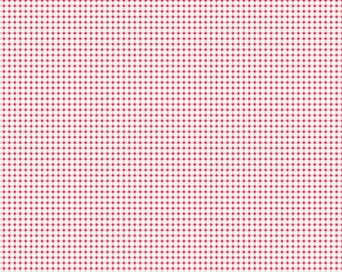 TILDA - Mini Gingham Red 1/4yd