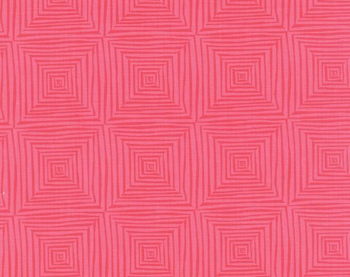 Paradiso by Kate Spain - Veranda Coral Pink - 1 yd