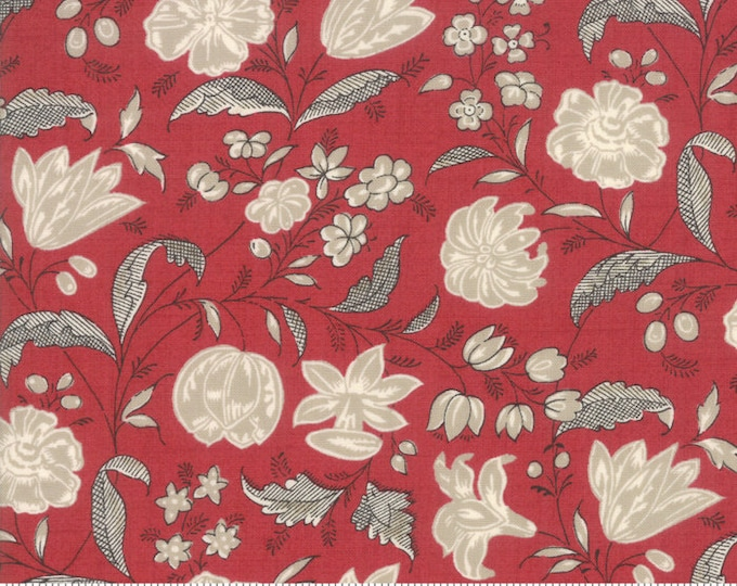 Chafarcani - French General - 1385311 Rouge - 1/2yd