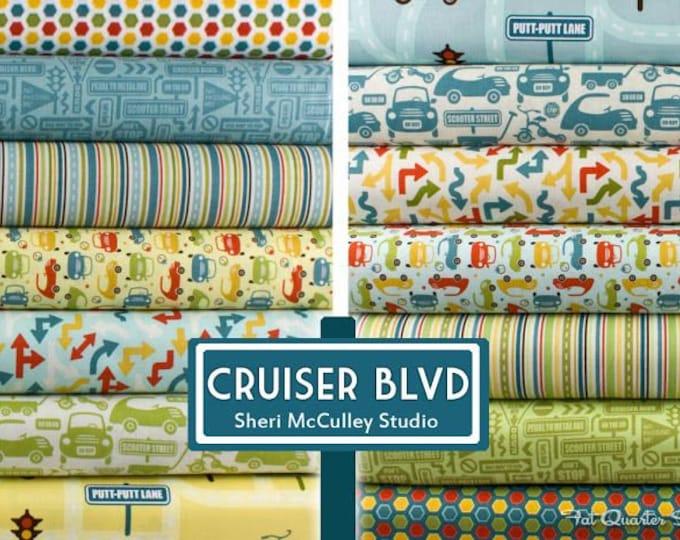 Cruiser Boulevard by Sheri McCulley - 12 FQ Bundle