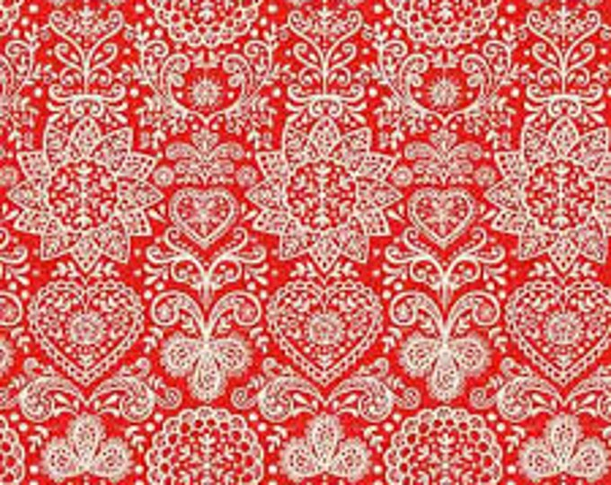 Christmas Scandi 1784R - 1/2yd