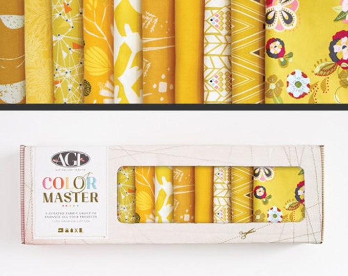 AGF Color Master - 10 FQs - Gold Leaf