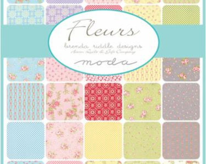 Fleurs by Brenda Riddle - 40 x 1/4 yd Bundle