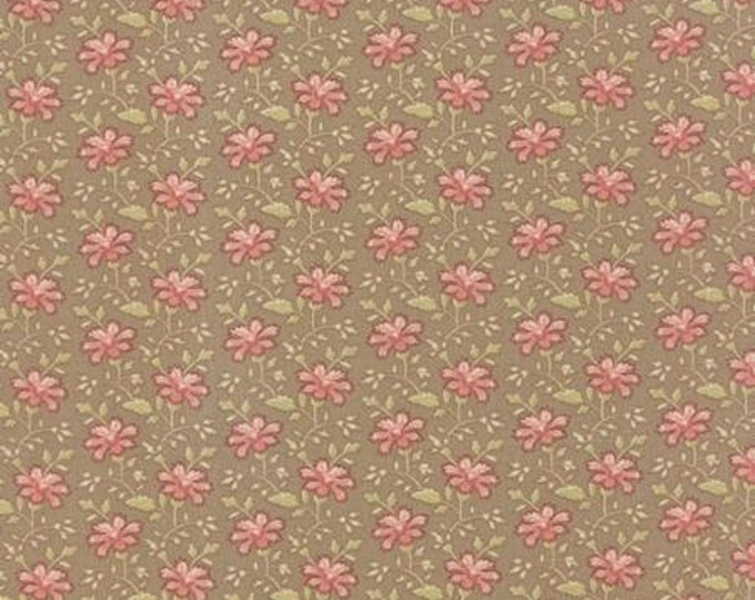Country Orchard by Blackbird Designs - Trailing Floral Dry Earth - 1/2yd