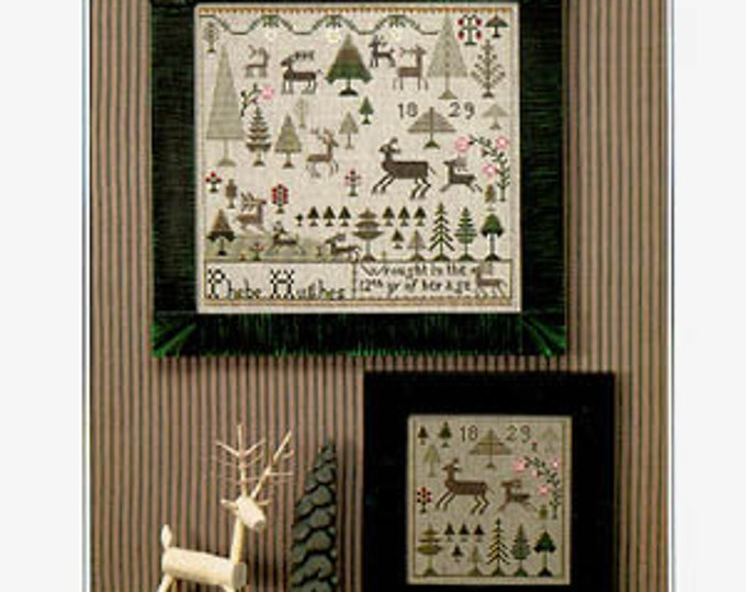 Phebe's Forest - The City Stitcher - Cross Stitch Chart