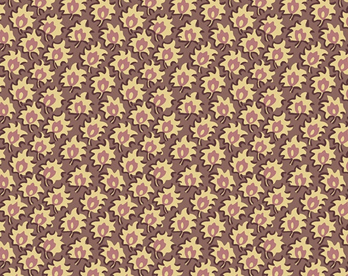 Windermere by Di Ford Hall - Floret Plum 8927EP - 1/2yd