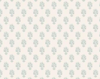 TILDA - Ornament Teal Blue 1/4yd