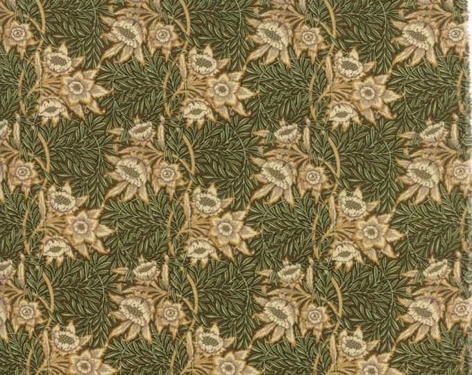 William Morris Tulip WIllow 1873 Sepia 730213 - 1/2yd