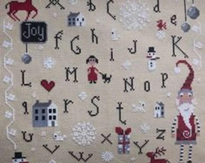 Christmas Joy - Barbara Ana Designs - Cross Stitch Chart